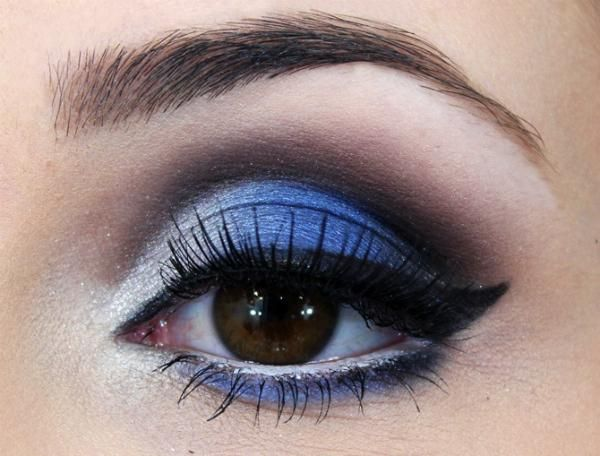 Como usar sombra azul - 4 passos (com imagens) - umComo