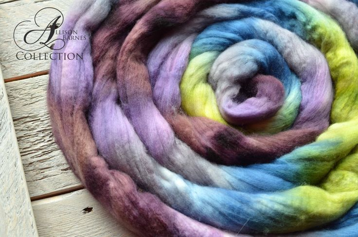 A personal favorite from my Etsy shop https://www.etsy.com/ca/listing/468404800/merino-wool-top-for-spinning-or-felting