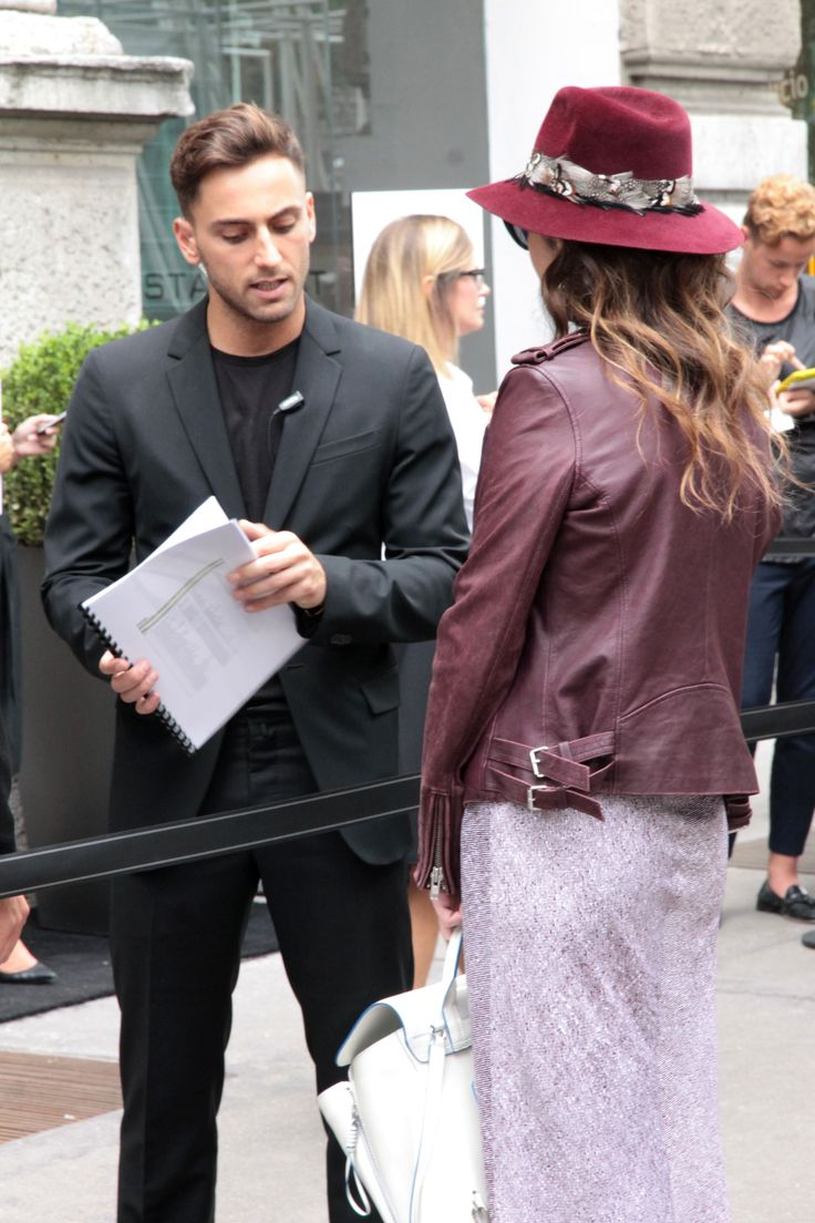 Milano Fashion Week SS15 - www.sarispazio.com Street Fashion Armani