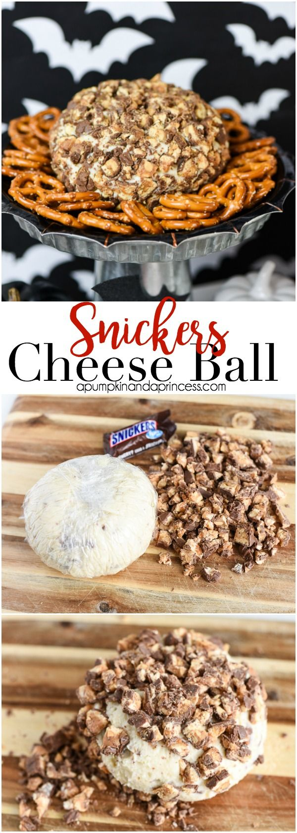 Snickers Cheese Ball Recipe