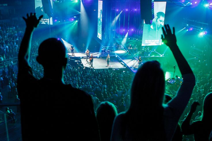 hillsong concert crowd - Google Search