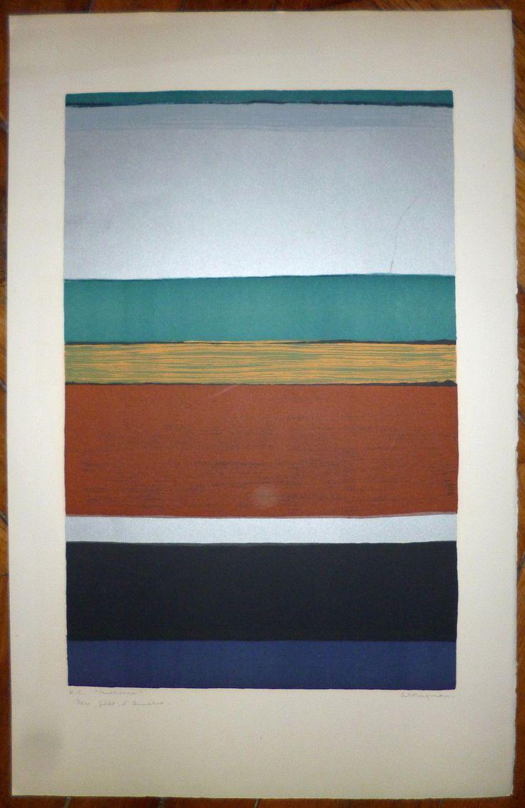 Anna-Eva Bergman, Multihorisont, litografi opplag 75