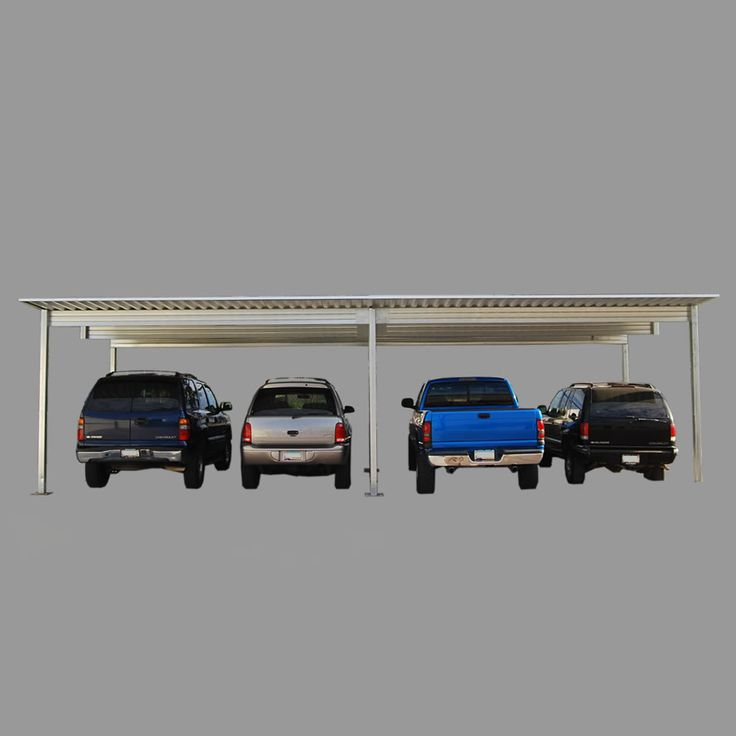 4 vehicle diy carport kit rv atv and for 4 car carport plans