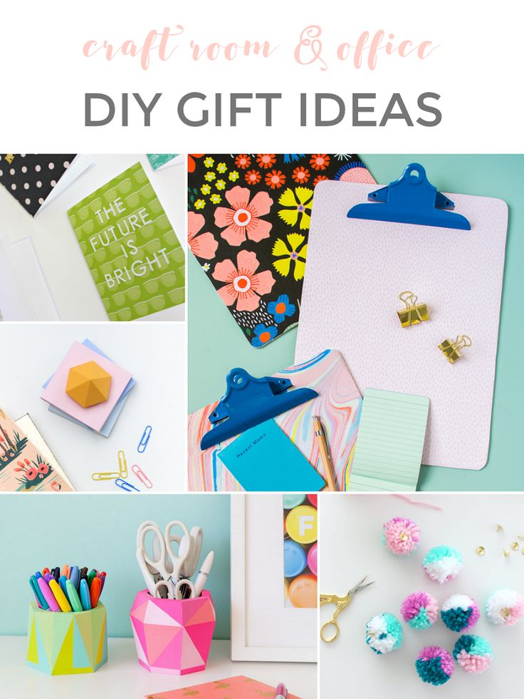 DIY HOLIDAY GIFT IDEAS: CRAFT ROOM & OFFICE DECOR & SUPPLIES