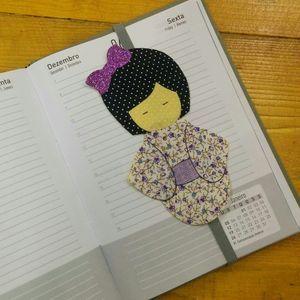 Faça um lindo marcador de livros em patch apliquê! - Artesanato