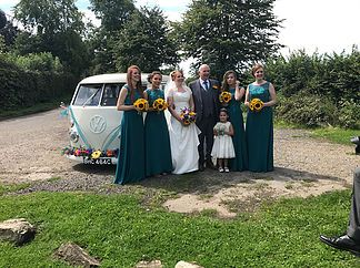 Need A Vintage Wedding Car Turn Heads On Your Day With Our Stunning White VW Camper Van Available To Hire In London Kent Essex And Surrey