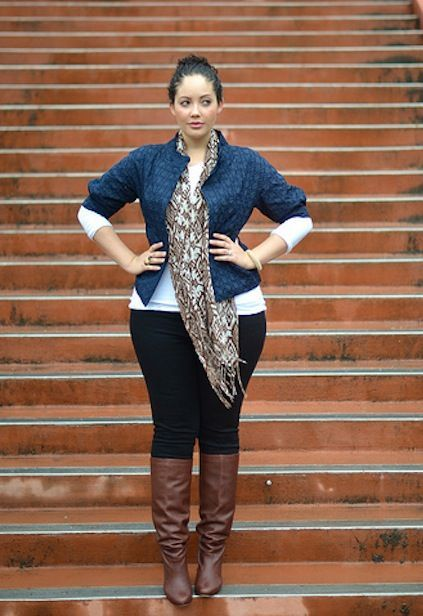 Plus size fashion for women - plus size outfit for fall - plus size blogger Girl with Curves