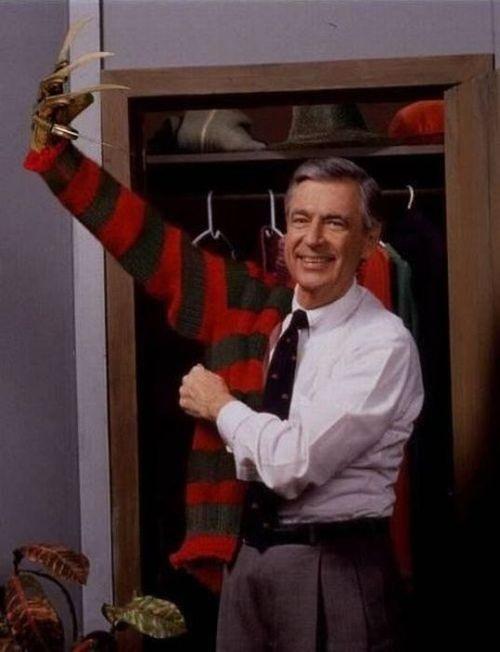 Mr Rogers true identity....