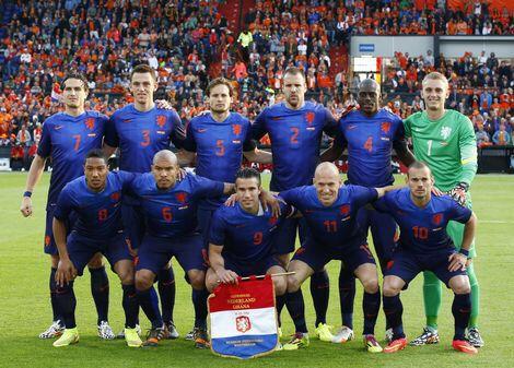 Nederlands elftal wk 2014