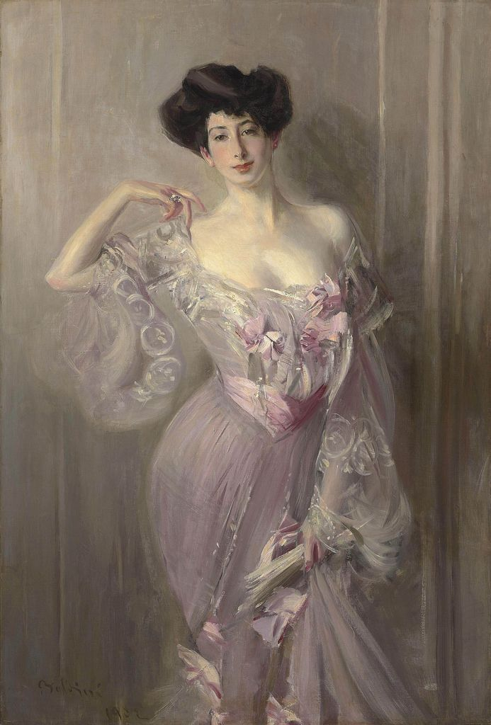 Portrait of Ena Wertheimer. Giovanni Boldini