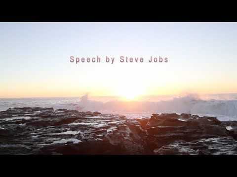The best motivational speech video! Steve Jobs! Guaranteed to make you f...