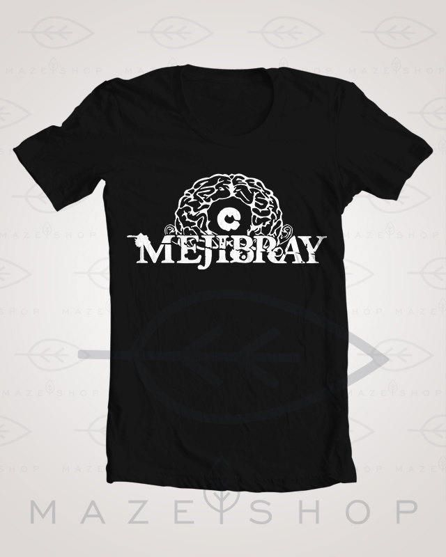 Mejibray Logo T-shirt The Gazette One ok Rock BabyMetal ...