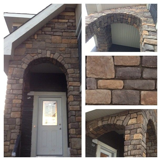 Foyer Area Utah : Limestone stone arch and entryway you inspire us