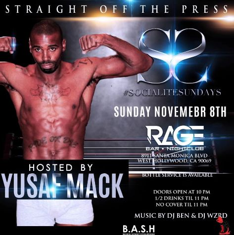 New PopGlitz.com: MILKING THE COW: Yusaf Mack Throws A Coming Out Party At Popular L.A. Gay Club - http://popglitz.com/milking-the-cow-yusaf-mack-throws-a-coming-out-party-at-popular-l-a-gay-club/