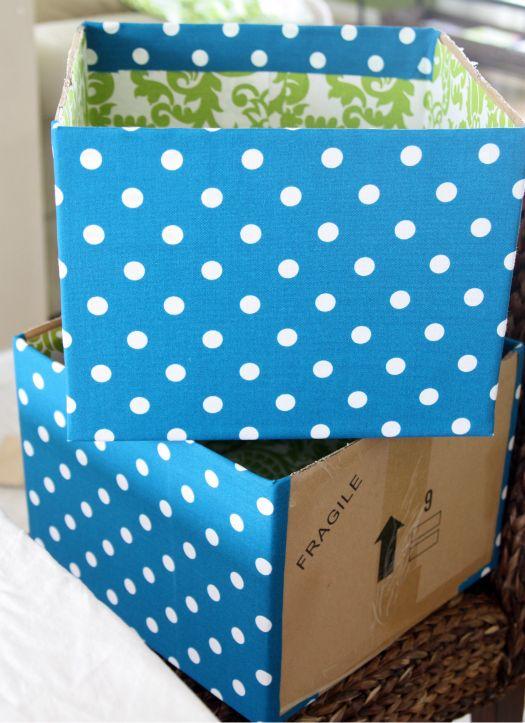106Project Pretty: DIY Fabric Boxes