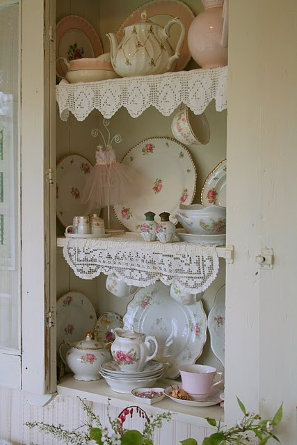 Lovely way to display China