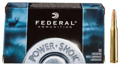 Federal Premium Power-Shok Centerfire Rifle Ammo - .243 Winchester - 100 Grain #Ammunition #Ammo #CheapAmmo #CheapAmmunition