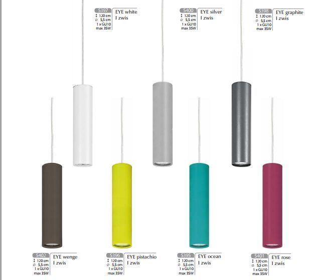 Lampa wisząca EYE Nowodvorski (kolor do wyboru) - Cudowne Lampy