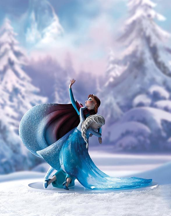 Inspired by a 'moment' from one of Walt Disney's most successful films — Frozen…