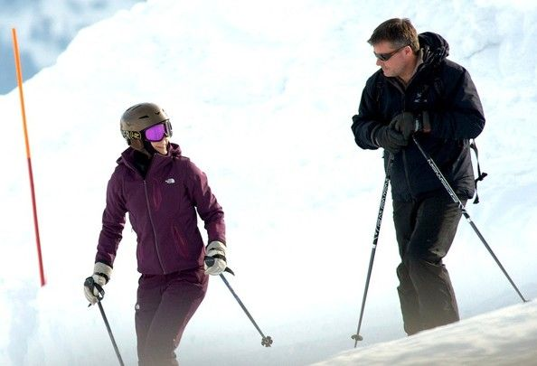 Princess Mary Photos - Danish Royalty Hit the Slopes - Zimbio