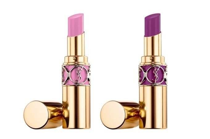 Ysl Spring 2019 Makeup Collection Beauty Trends And Latest Makeup Collections Chic Profile In 2020 Ysl Lipstick Ysl Rouge Volupte Shine Ysl Makeup