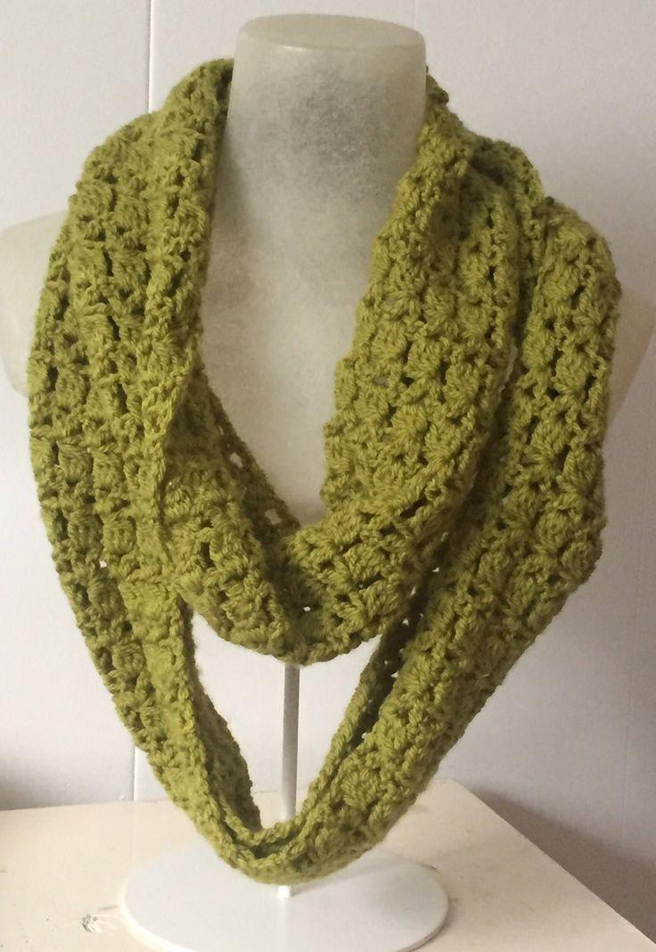 Infinity Scarf - Crochet Scarf - Handmade Scarf - Hipster Scarf - Double Loop Scarf - Small Infinity Scarf - Winter Scarf - Circle Scarf