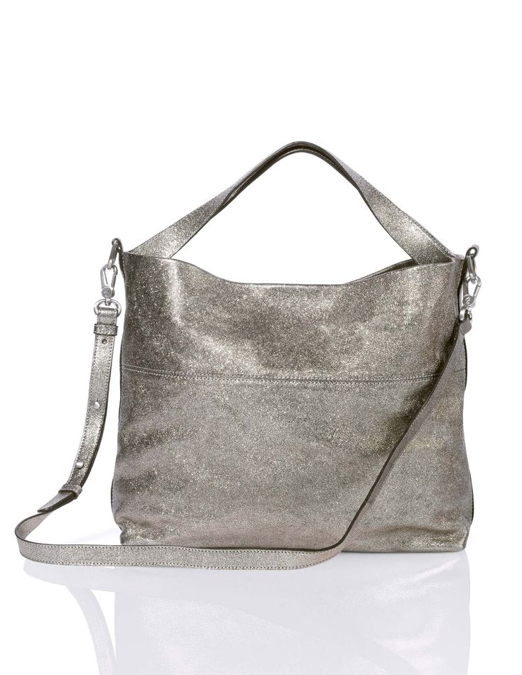 Slouchy Leather Bag, £149, Boden