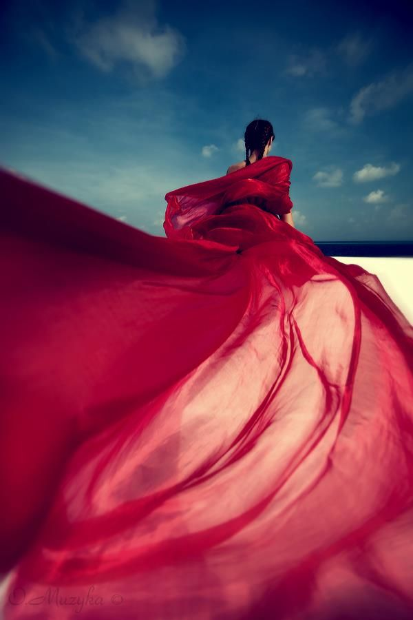 .: Beaches Shoots, Photography Colors, Red Dresses, Red Gowns Photography, Red Rose, Fashion Shoots Draping, Fashion Photography, Fashion Shoots Beaches, Art Photo