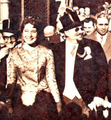 OĞUZ TOPOĞLU : mısır kralı faruk ve kızkardeşi fevziye 1962 hayat...