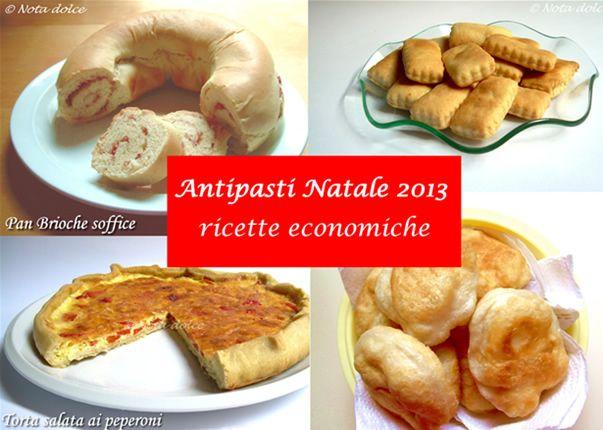 Antipasti Natale 2013, ricette economiche