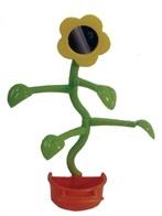 Boon vogelspeeltgoed voerbak met bloem en spiegel