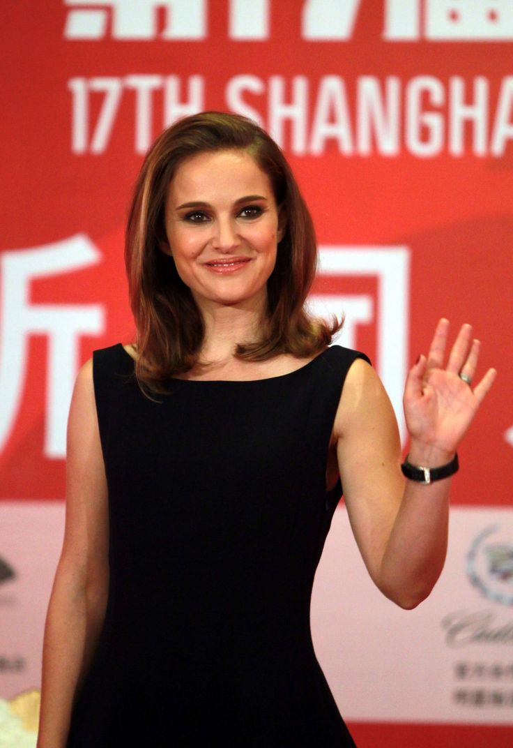 Natalie Portman ✾ attending a press conference at Crowne Plaza Hotel during the 17th Shanghai International Film Festival (June 22nd 2014)