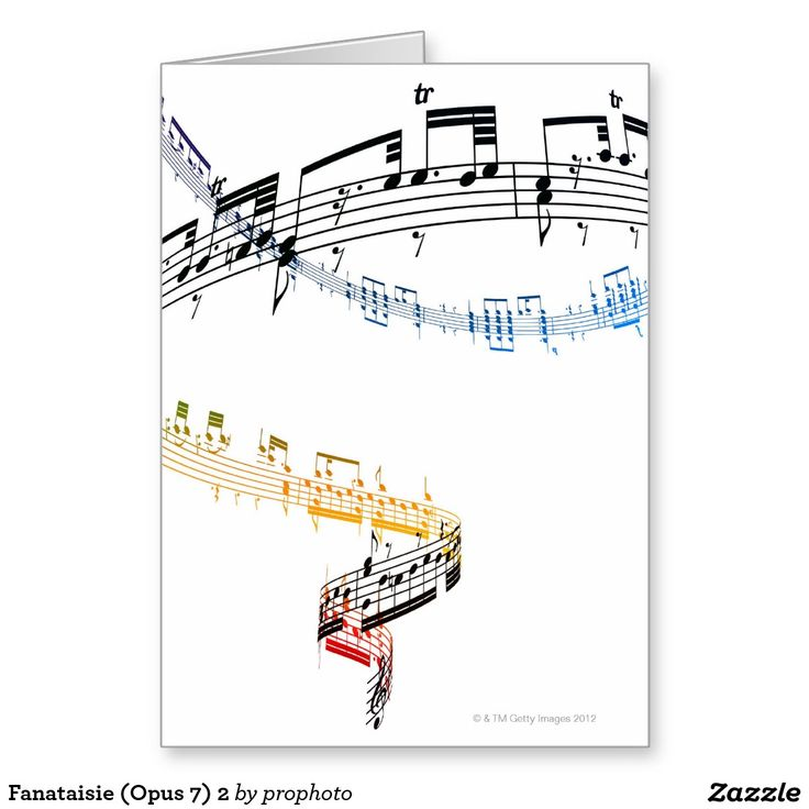 Fanataisie (Opus 7) 2 Greeting Card