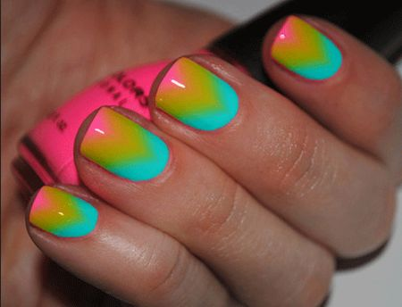 591 best ombre / galaxy nail designs images on pinterest