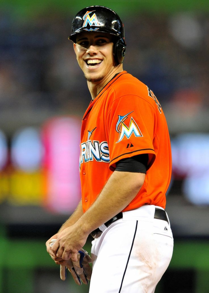yankeegirl:  Jose Fernandez smiles while leading off of first base during the fourth inning at Marlins Park September 11, 2013.