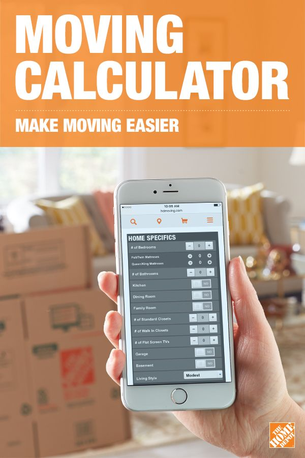 Use our moving calculator to help determine what boxes and accessories you'll need to make your move a success! Click-through to get started.