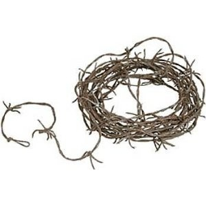 fake barbed wire from rope