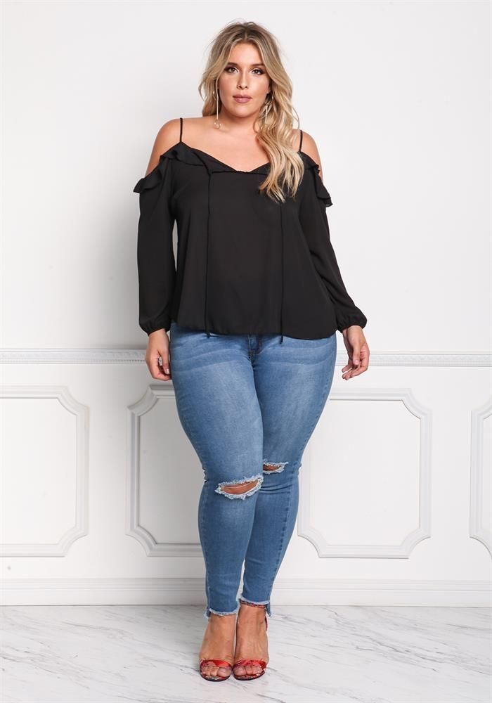 49 Cute Spring Blouses Women Plus Size to Look Small