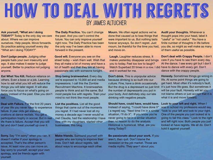 James Altucher on Regrets