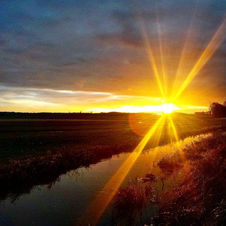 . #homesweethome #landleben #farmlife #beautiful #landscape #landschaft #nature #natur #bavaria #bayern #selbstversorger #selfsufficient #homestead #dahoam #bach #creek #brook #fluss #river #winter #spaziergang #walk #fishing #fischen #angeln #sunset #sonnenuntergang