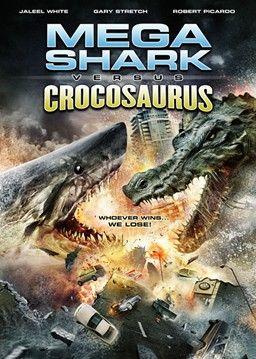 Who will win this epic battle? #megashark #crocosaurus #theasylum  Not even really so bad its funny.  Just pretty bad