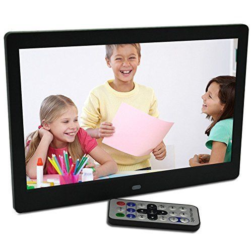 Digital Photo Electronic Picture Frame Living Room Video 10 Inch LED HD USB Best