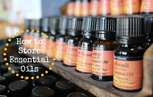 How to store essential oils