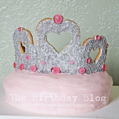 Princess Tiara Cake   Not JUST A Housewife
