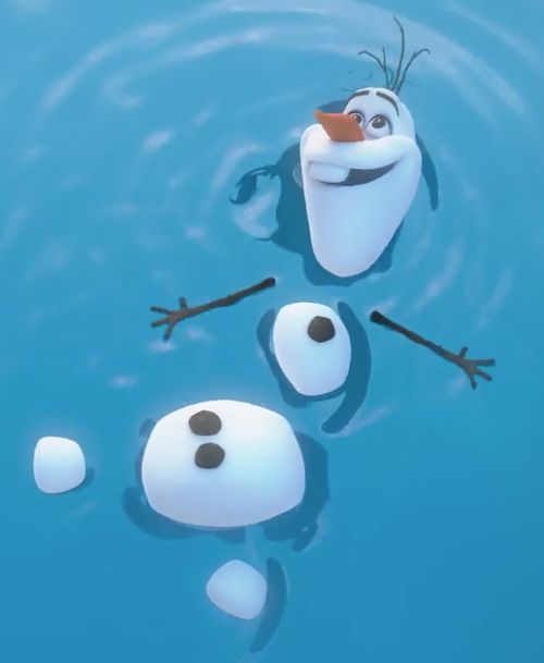 Olaf you are the best thing that I have ever created