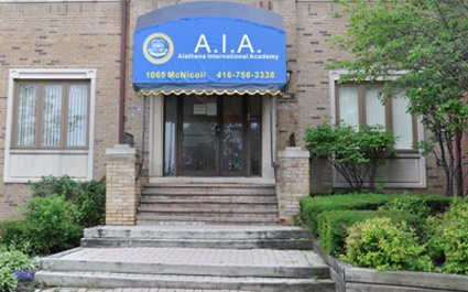 Alathena International Academy, Scarborough, Ontario: private school for grades 9 to 12.