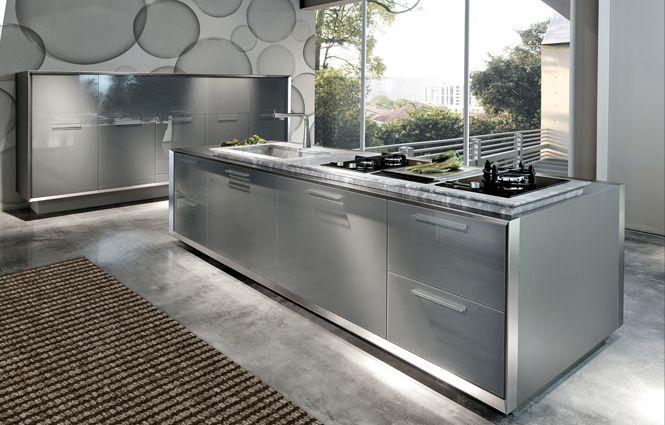 Cucina acciaio