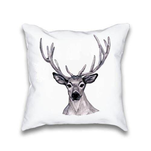 Deer Pillow Case Throw Pillow Cover Pillowcase