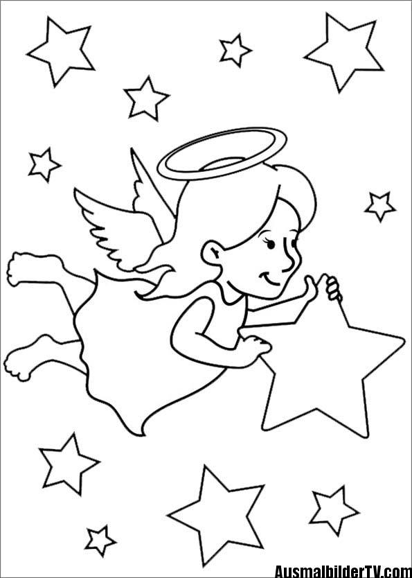 Ausmalbilder Weihnachten Engel Ausmalbilder Ausmalbilder
