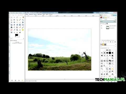 GIMP - jak prosto obrobić zdjęcia w 5 krokach | techManiaK.pl - YouTube